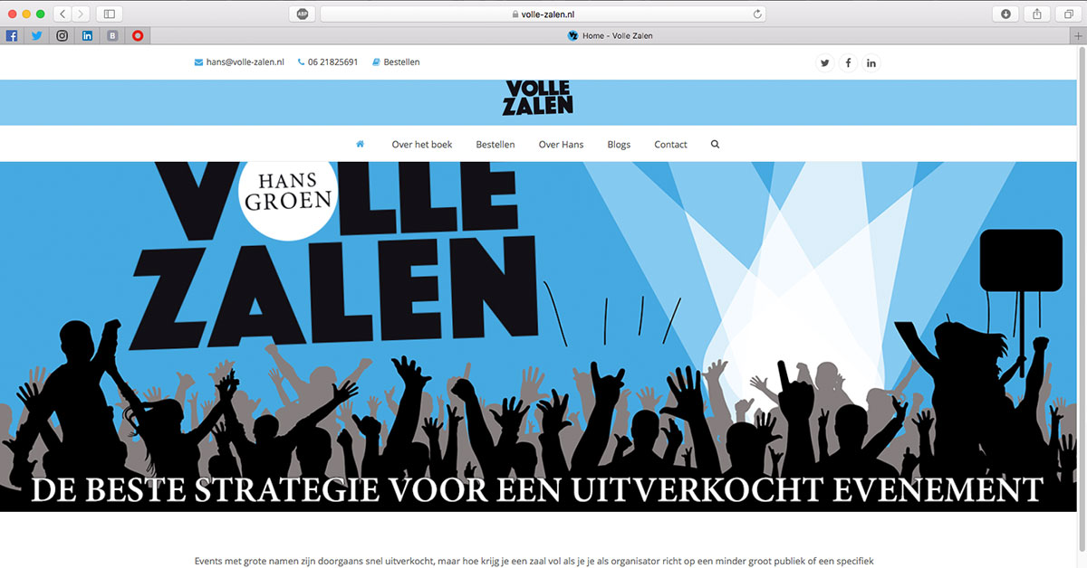 Volle Zalen Website