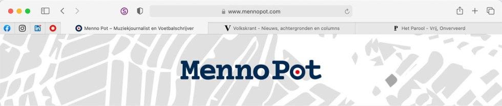 Website Menno Pot