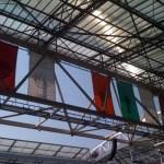 Ontbrekende banieren in de Amsterdam ArenA