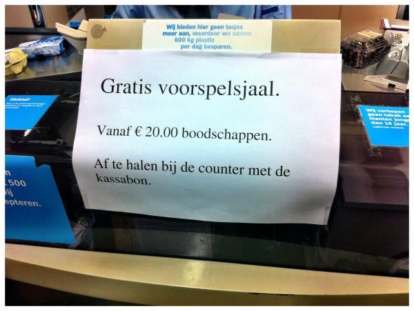 Voorspel Bij De Albert Heijn