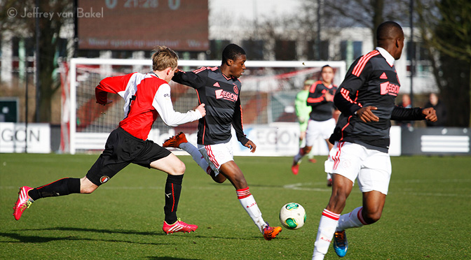 Ajax A1-Feyenoord A1 ©JeffreyvanBakel