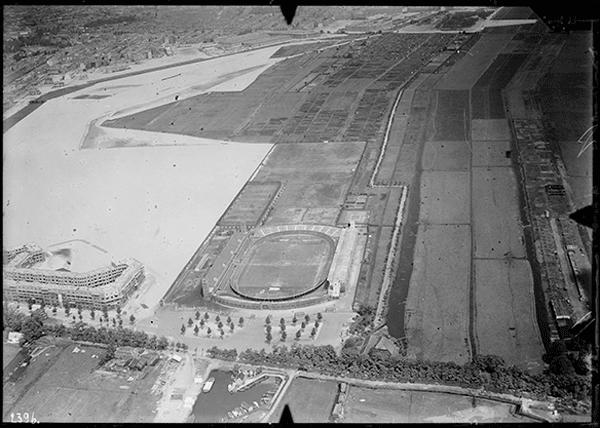Amsterdam Stadion rond 1920