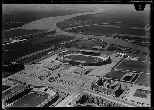 Amsterdam Stadion Rond 1928