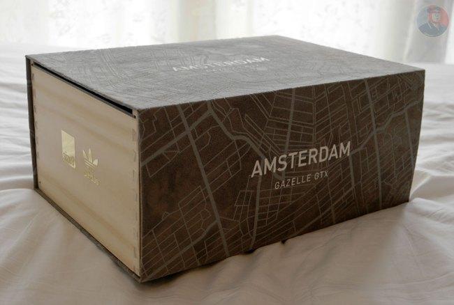 Adidas Gazelle Amsterdam doos