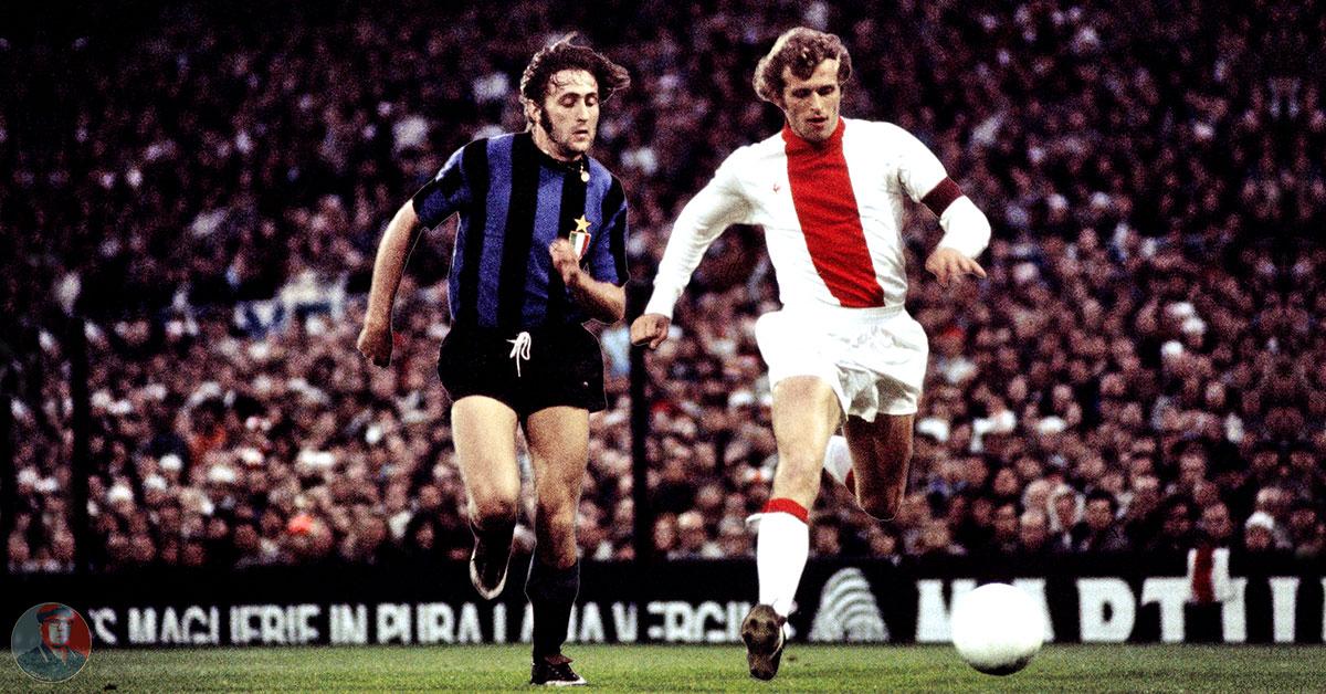 Ajax Shirt Jaren '70, Gedragen In De Finale Ajax-Inter 1972