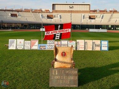 FC Amsterdam scheurkalender presentatie