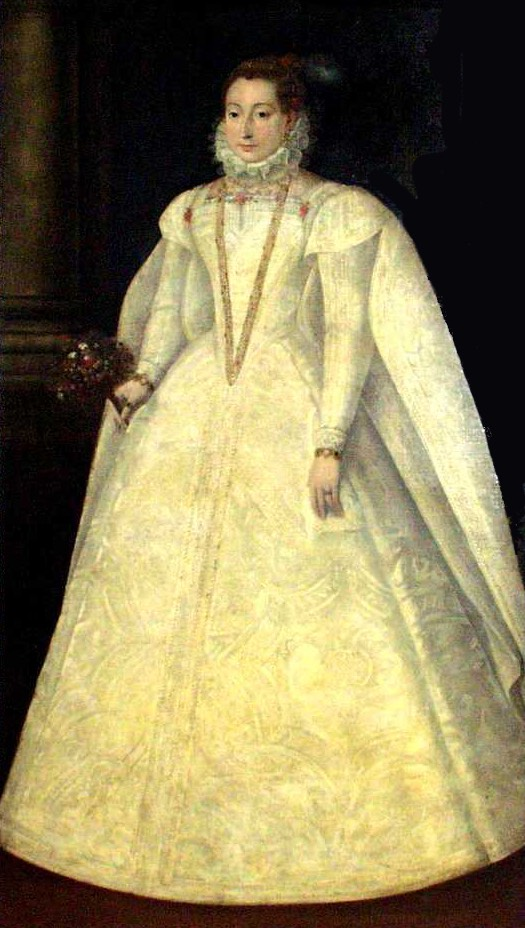 1565 Mary Stuart wedding dress by  location unknown to gogm  Grand Ladies  gogm
