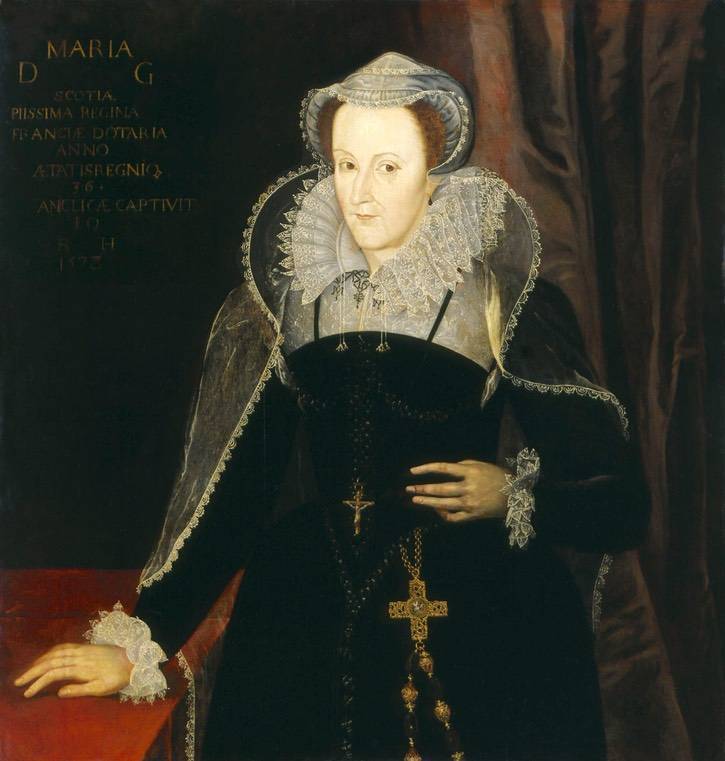 1578 Mary Stuart after Nicholas Hilliard (National ...