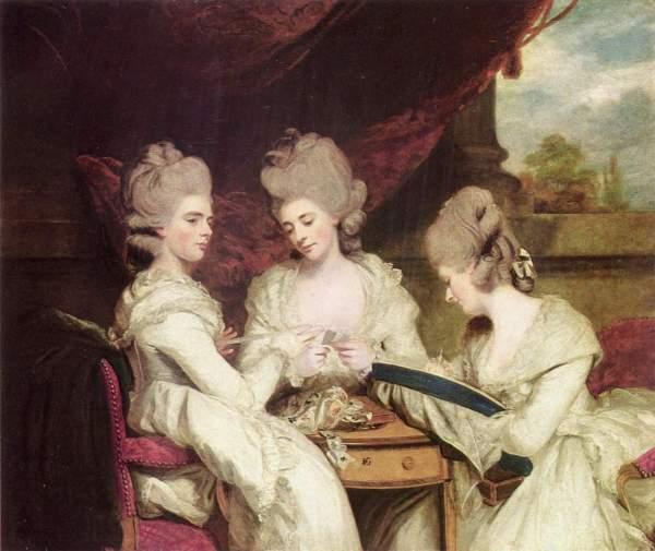 1780-1781 Waldegrave Sisters Sir Joshua Reynolds