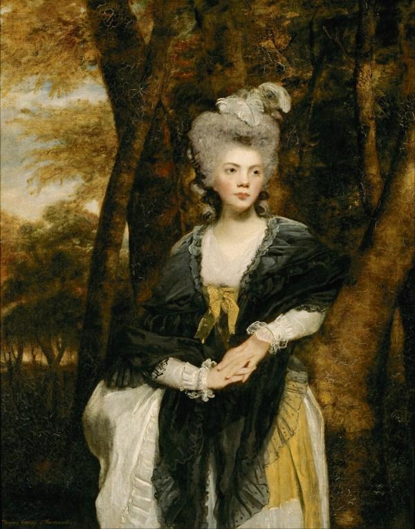 1781-1782 Lady Frances Finch Sir Joshua Reynolds