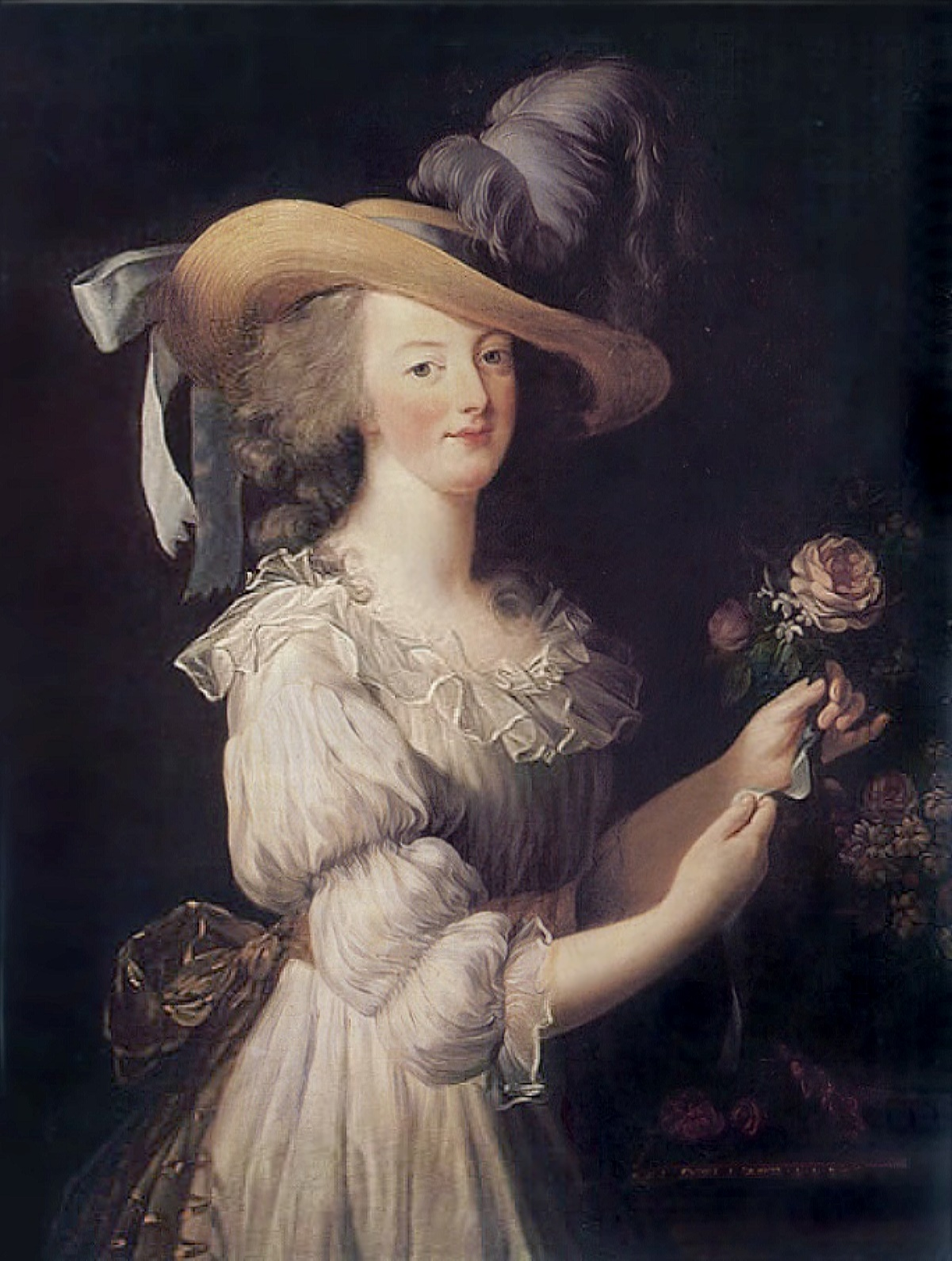 women s fashion during and after the french revolution 1790 to marie antoinette en chemise by Élisabeth vigée lebrun 1783