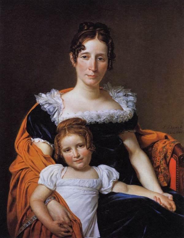 1816 Comtesse Vilain Jacques-louis David National