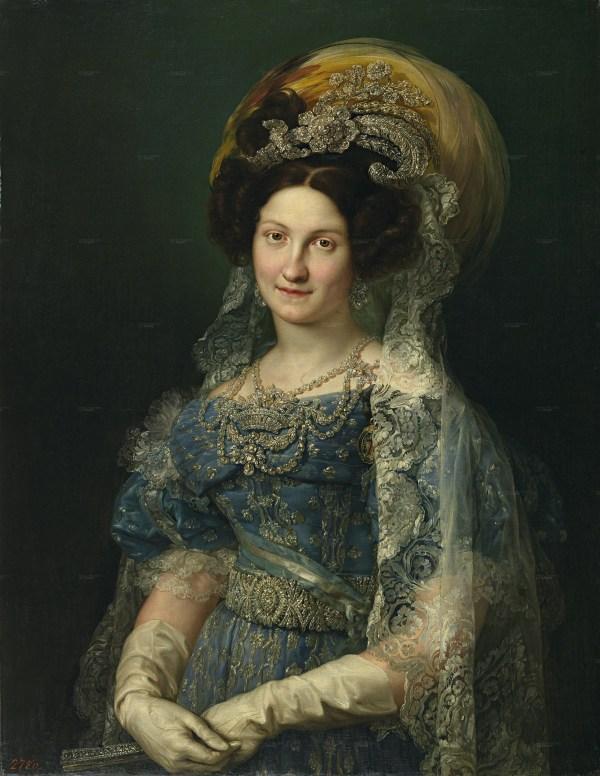 1830 Mar Cristina Vicente Lopez Porta Museo