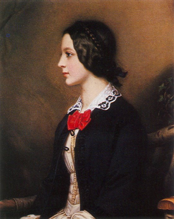 1850 Maria Dietsch by Joseph Karl Stieler (Schon)