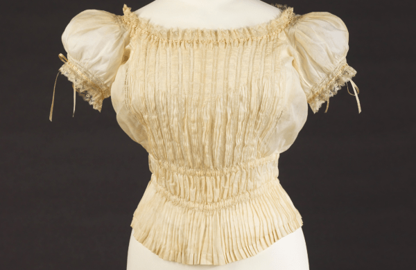 1895-1900 French Corset Cover Metropolitan Museum Of Art - York City Usa Grand