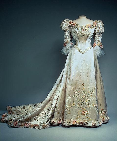 Alexandra's evening dress