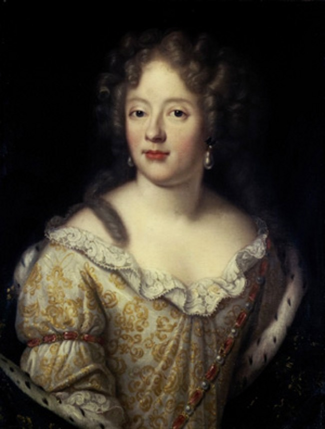 Ca 1671 Madame Liselotte Commonly Mistaken For The