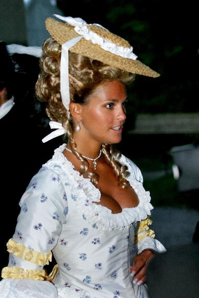 1700sstyle costume as worn by Princess Madeleine of