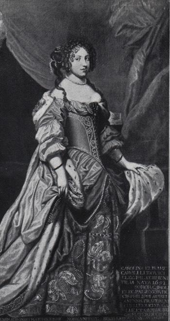 Liselotte von der Pfalz by Georg Poensgen location unknown to gogm  Grand Ladies  gogm