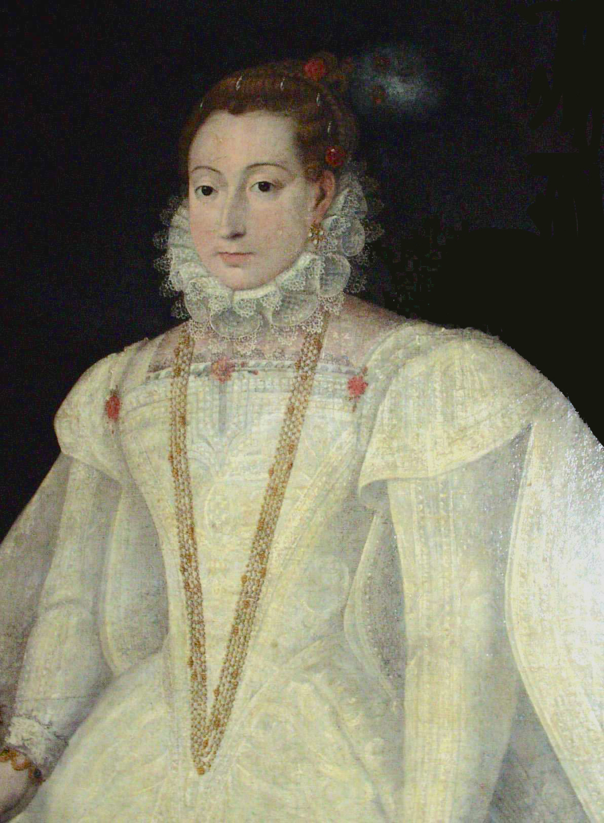 1565 Mary Queen of Scots wedding dress by  location unknown to gogm  Grand Ladies  gogm