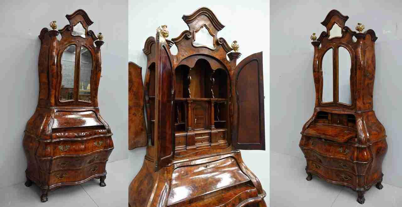 Trumeau mosso Luigi XIV lombardo  veneto lastronato