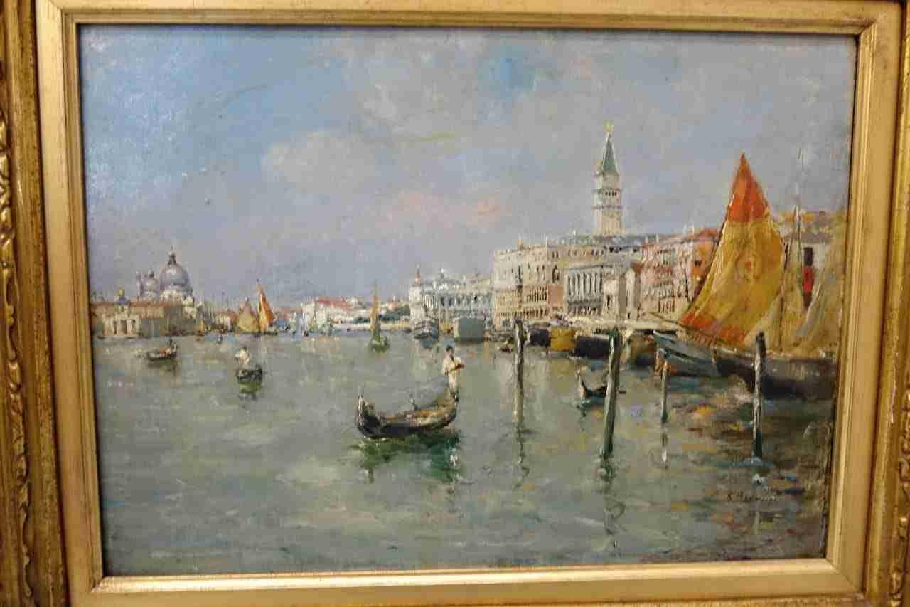 dipinto olio su tela venezia Gognabrosit