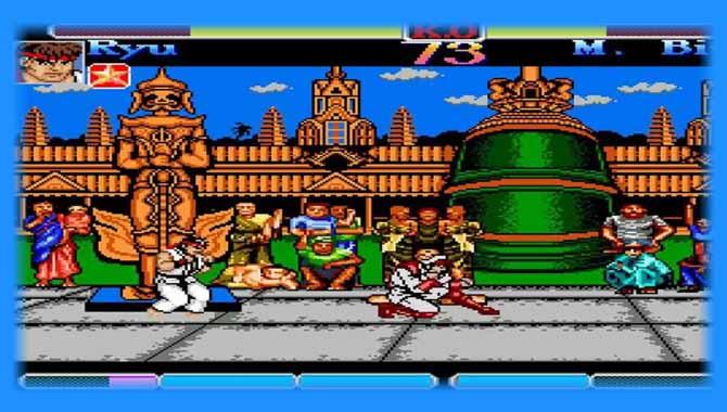 Street Fighter 1 Nes