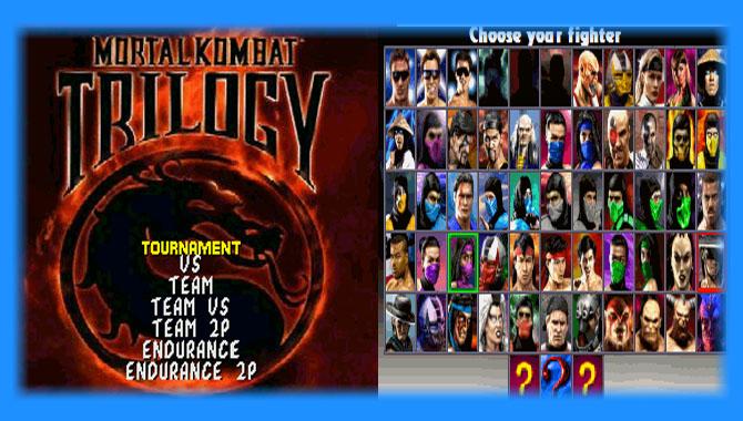 Mortal kombat ultimate trilogy for sega emulator youtube.