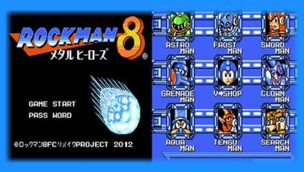 Rockman 8 FC (PC) - Homebrew Download | GO GO Free Games