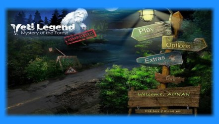 mystery legend game