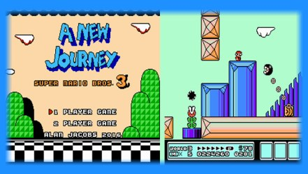 Super Mario Bros 3: A New Journey (NES) - Hack Download | GO GO Free