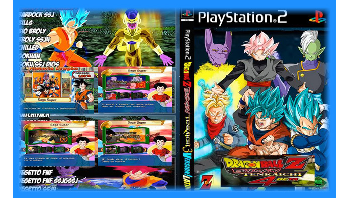 Dragon Ball Z Budokai Tenkaichi 4 (PS2) - Mod Download