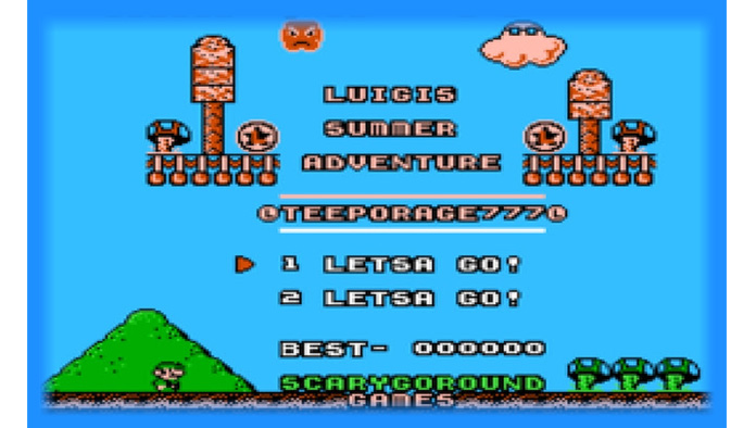 Luigi's Summer Adventure - Hack Download