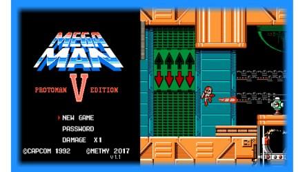 Mega Man 5: Protoman Edition (NES) - Patch Download   GO GO