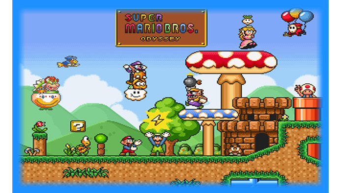 New Super Mario All Stars Hd Super Mario World Remake Download Fasrdream