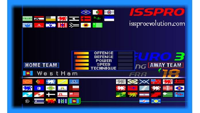 International Superstar Soccer Pro 2018 (PS1) - Patch