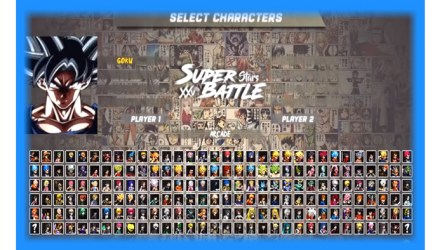 Anime Super Battle Stars Mugen Download Go Go Free Games