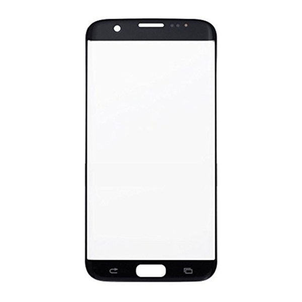 Samsung Galaxy S7 Edge / G935 Front Screen Glas Linse (silber)