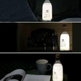 Milchflasche LED Milk Bottle Nachlicht mit Dimmfunktion