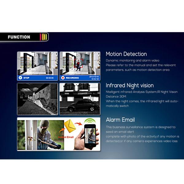 IP Kamera white  IP Cam 1080P IP66 Wasserdicht (Spannung über LAN)