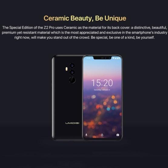 UMIDIGI Z2 Pro Dual 4G 6GB+128GB Ceramic Version