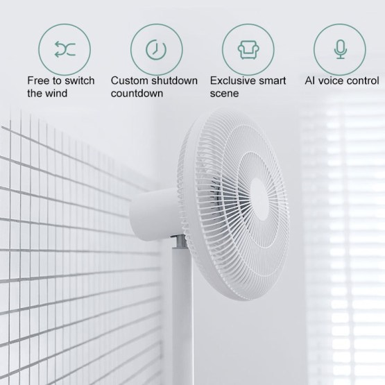 Smart Ventilator mit App und Sprachsteuerung