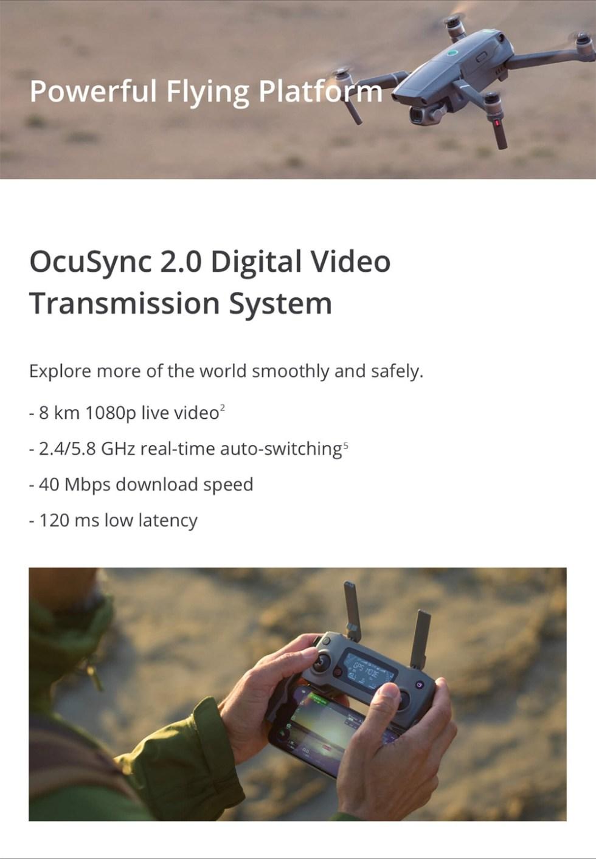 DJI Mavic 2 Pro 3-Axis Drone