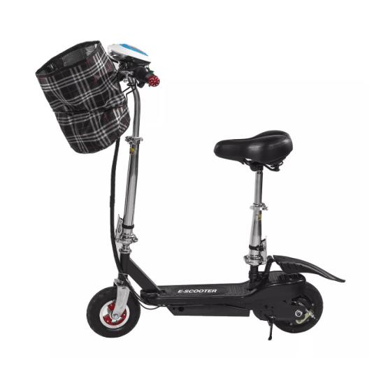 E Scooter mit Sitz