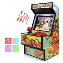 Mini Arcade Spielautomat mit 156 Games