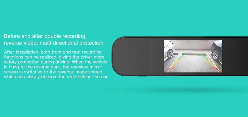 Rückfahrkamera Xiaomi 70Mai 720P