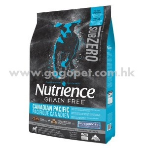 Nutrience Sub Zero 紐翠斯 凍乾脫水鮮三文魚+鯡魚無穀物 六種魚全犬配方