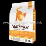 Nutrience Grain Free 紐翠斯 無穀物火雞+雞肉+鯡魚全貓配方