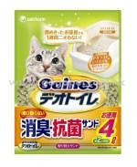 Unicharm 日本花王消臭大師 - 沸石貓砂 4L