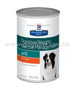 Hill's Prescription Diet - w/d 低脂犬糧 - 適合有糖尿病或胃腸疾病犬隻 13oz 行貨
